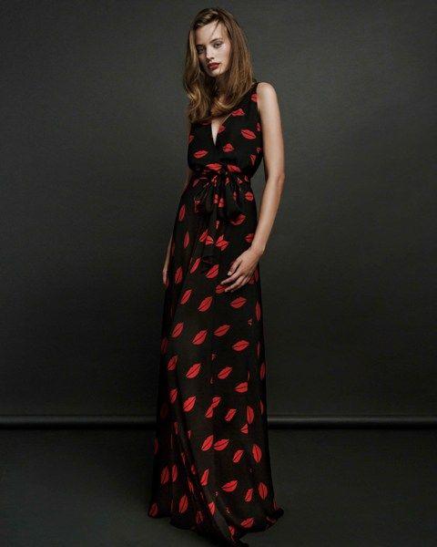 P.V.P. Vestido largo: 130 euros