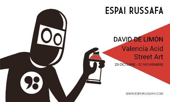 Valencia Acid Street Art Flyer