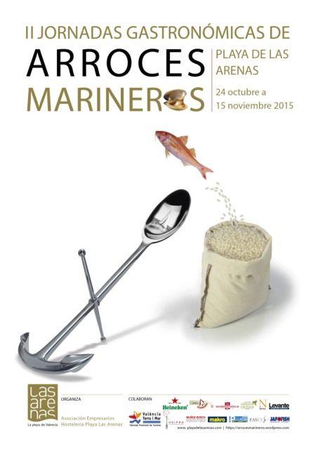 la arenas arroces marineros jornadas gastronomicas