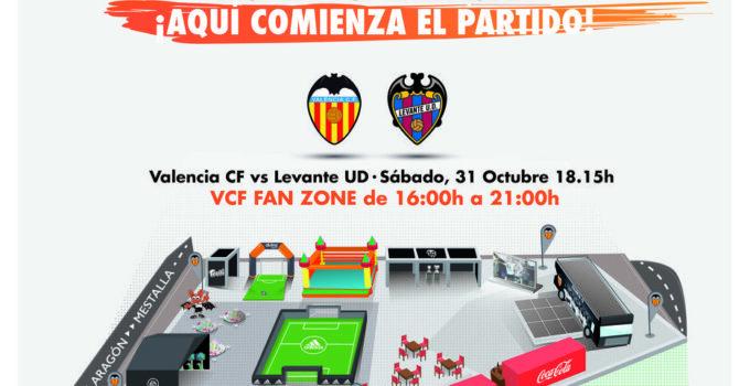 Disfruta este sábado de la VCF Fan Zone en la Plaza de Zaragoza