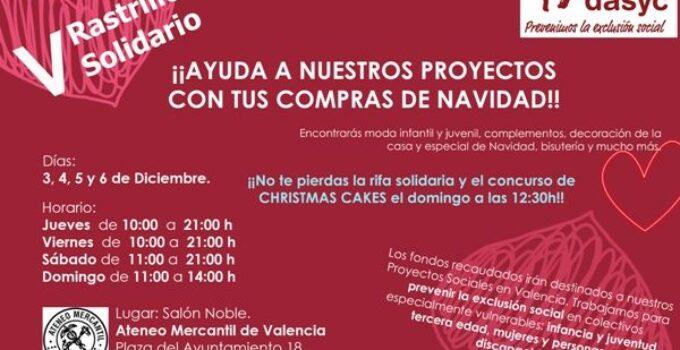 V Rastrillo Solidario de la Fundación DASYC
