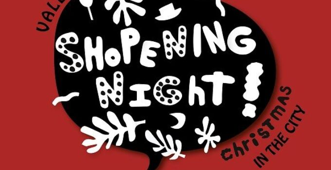 shopening night valencia navidad