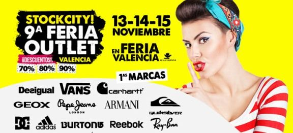 stockcity valencia feria outlet