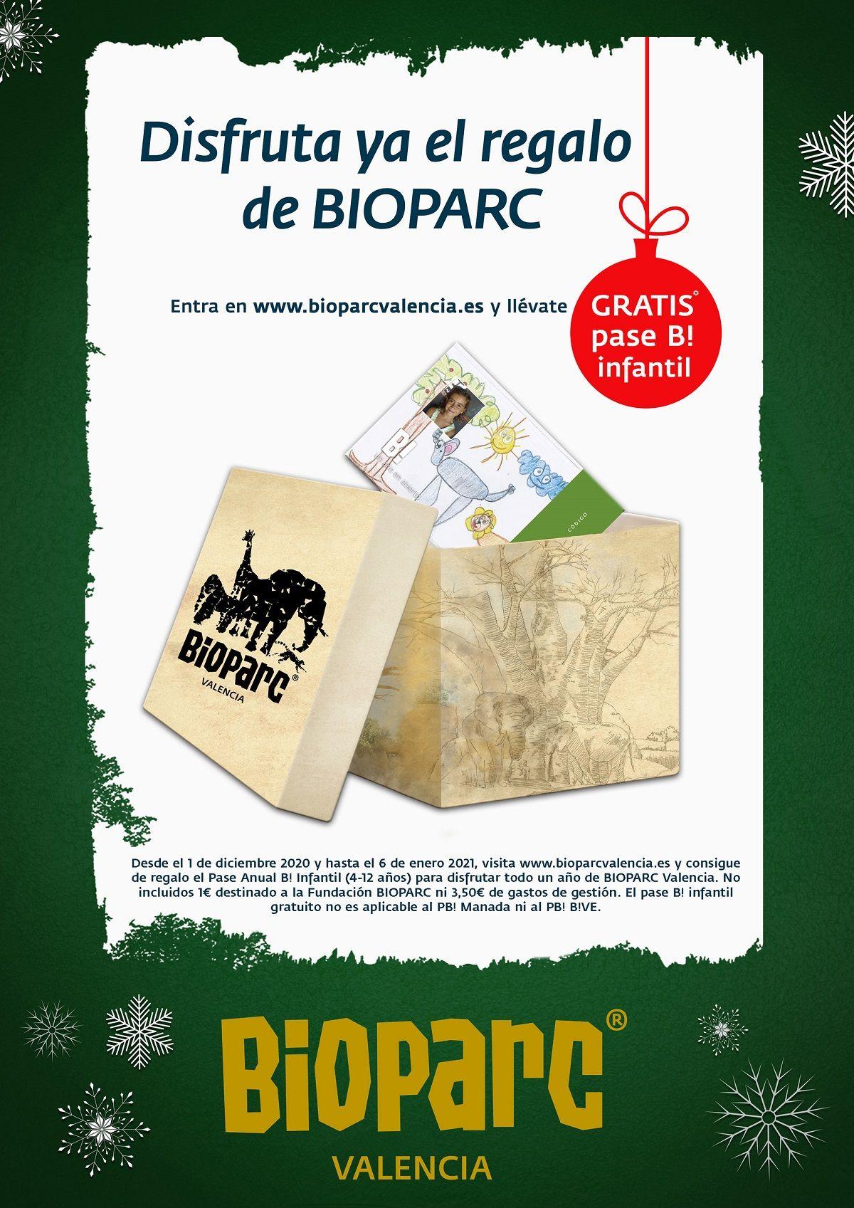 Promoción BIOPARC Valencia para esta Navidad valencia