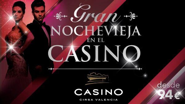 Cena nochevieja casino cirsa valencia