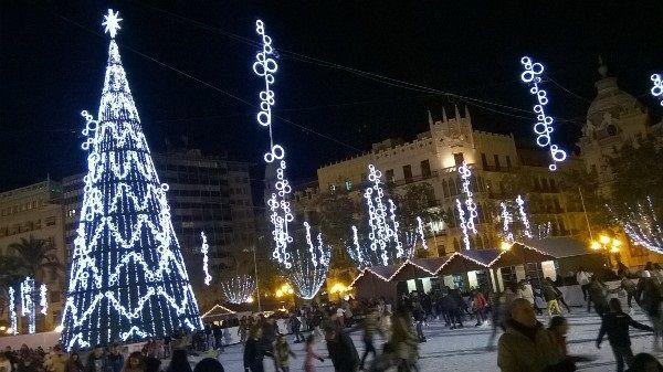 Pista Hielo Ayuntamiento Valencia