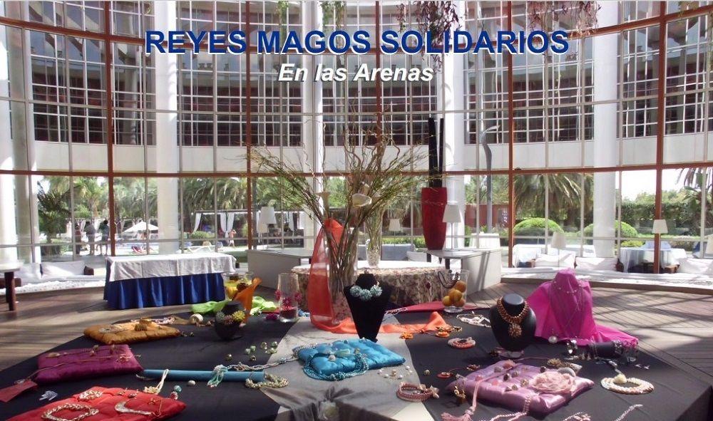 Reyes Magos solidarios en Las Arenas valencia