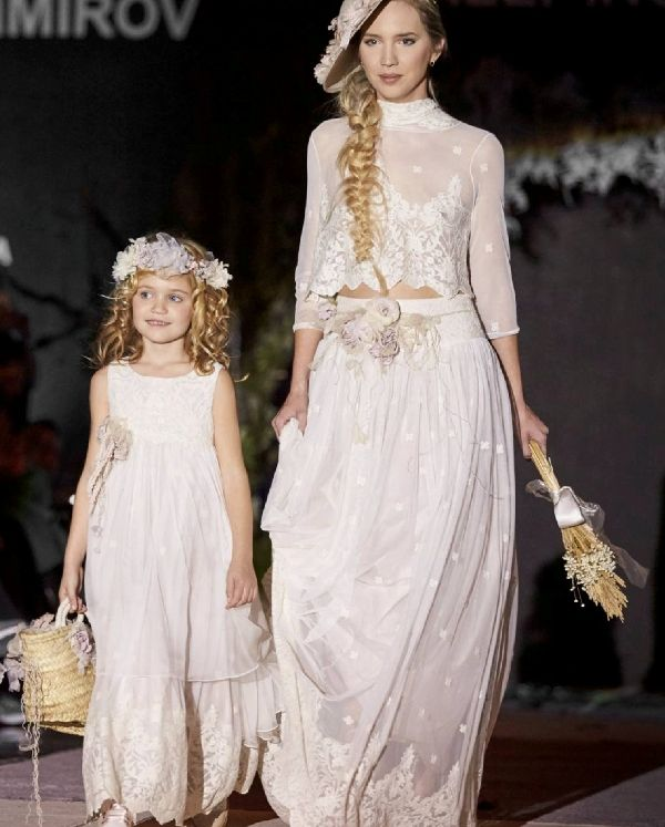 Ceremonia de niña y novia de Hortensia Maeso