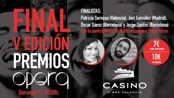 Concurso monologos opera casino