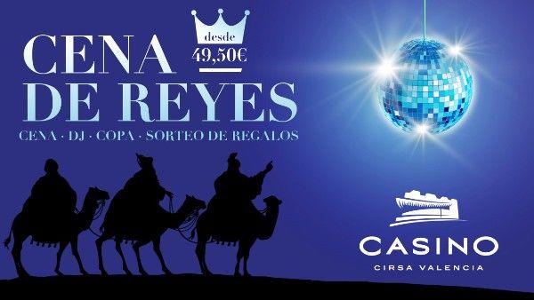 cena reyes casino