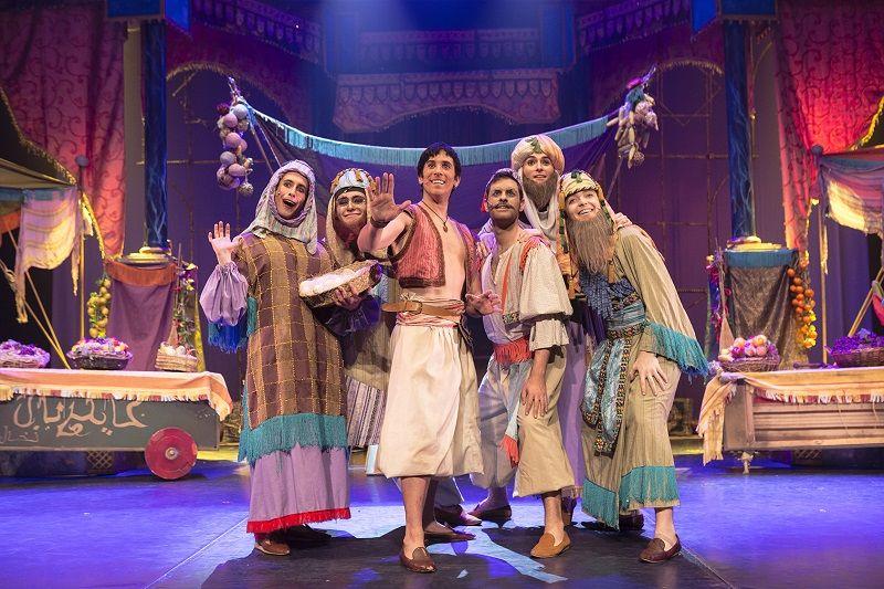 Aladín, Musical, Teatro Olympia