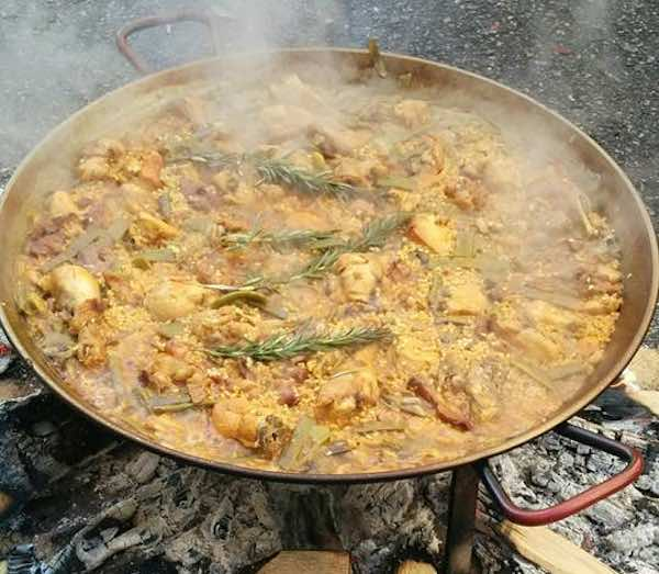 receta ingredientes paella