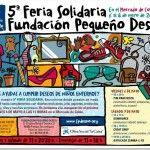 V Feria Solidaria Fundación Pequeño Deseo en el Mercado de Colón