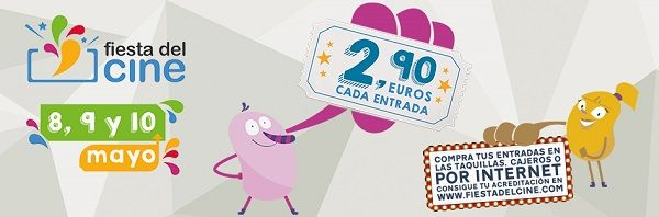 Vuelve la Fiesta del Cine en el mes de mayo valencia