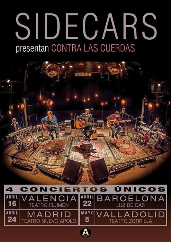 sidecars concierto valencia