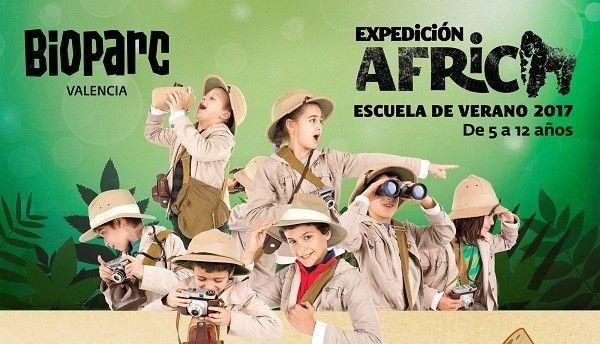 Expedición África: Escuela de verano de Bioparc Valencia