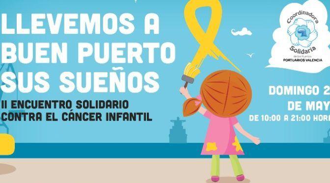 Macroevento solidario contra el cáncer infantil en la Marina Real