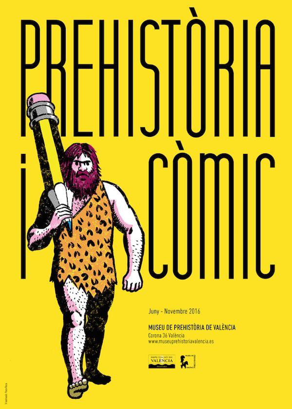 Exposición prehistoria comic