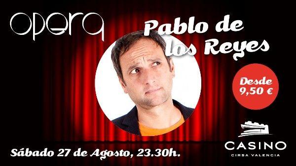 Casino Cirsa Valencia y Opera presentan al valenciano Pablo de los Reyes