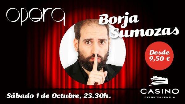 Borja Sumozas, un artista vocacional en Casino Cirsa Valencia