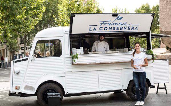 Acércate al Foodtruck Gourmet de La Conservera