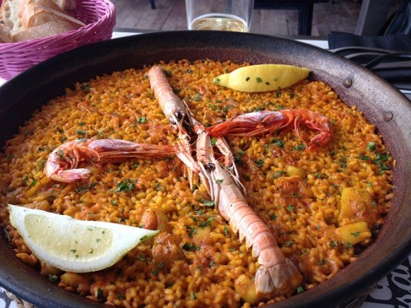 arroces marinerors las arenas