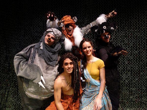 el libro de la selva musical teatro flumen