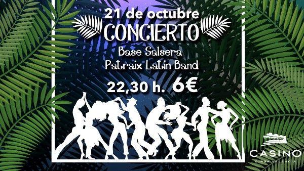 concierto salsa Casino Cirsa Valencia
