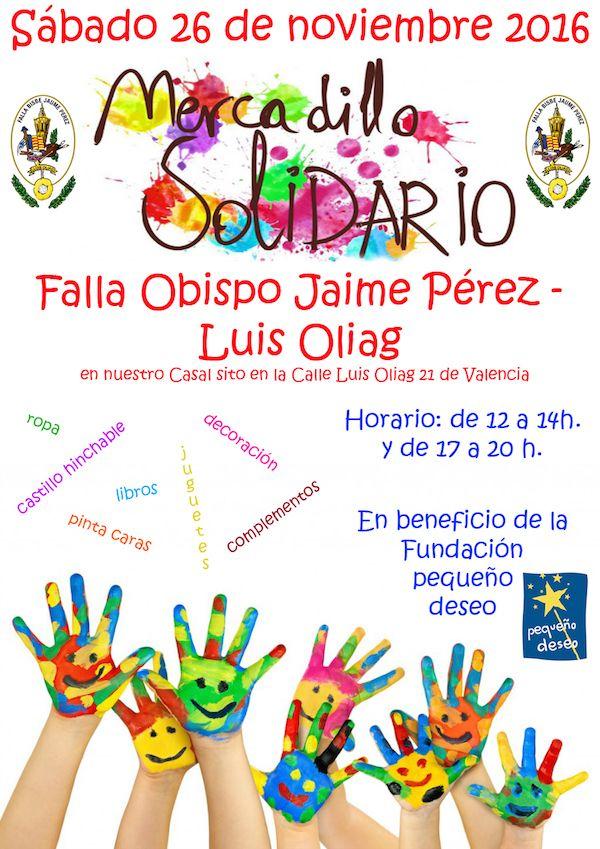 Cartel Mercadillo Solidario