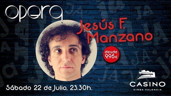 Jesús F. Manzano vuelve con humor y música a Casino Cirsa Valencia