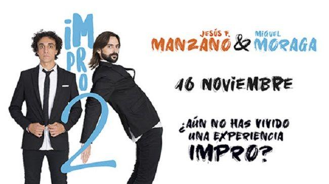 Mucho humor con Impro 2 en el Teatro Flumen valencia