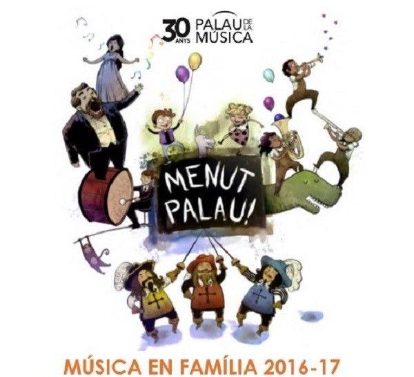 musica en familia al palau