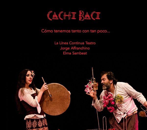 """La obra """"CACHI BACI"""" en el Teatro Círculo valencia"""