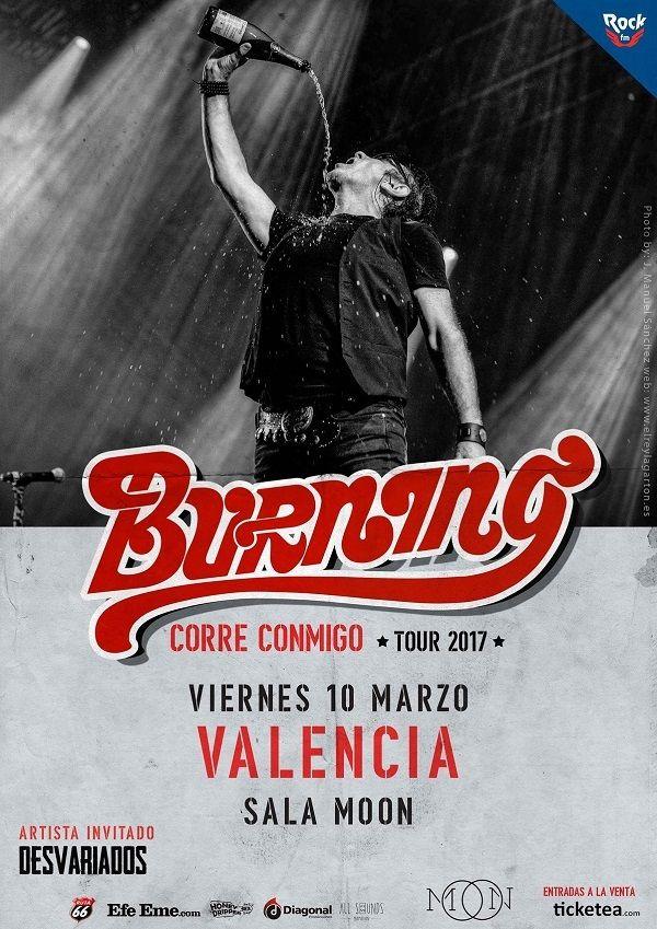 burning cartel concierto valencia