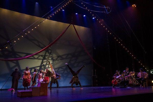 circo gran fele espectaculo el tren rambleta payasos eventos 13