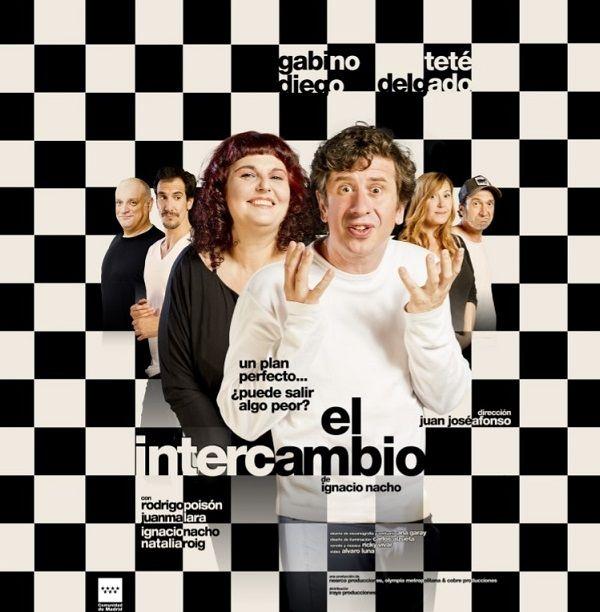 La comedia 'El Intercambio' llega al Olympia valencia