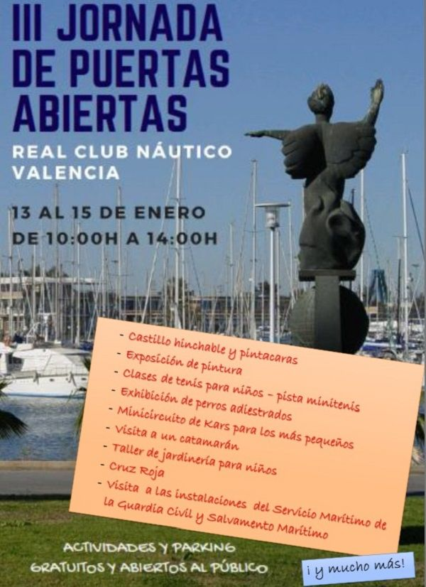 jornada puertas abiertas club nautico
