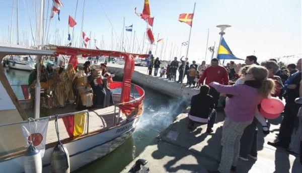 reyes magos real club nautico valencia