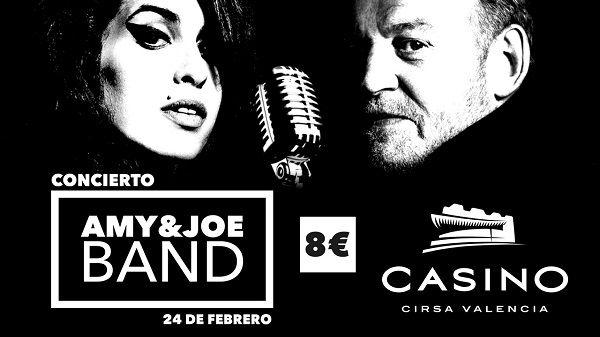AMY & Joe: tributo a Amy Winehouse y Joe Cocker en Casino Cirsa Valencia