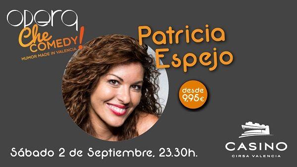 Patricia Espejo Casino Cirsa Valencia 2 septiembre