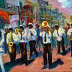 Desfile de Carnaval en el barrio del Cabanyal