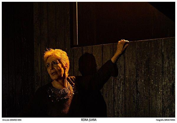 Concha Velasco se convierte en la 'Reina Juana' en el escenario del Olympia valencia