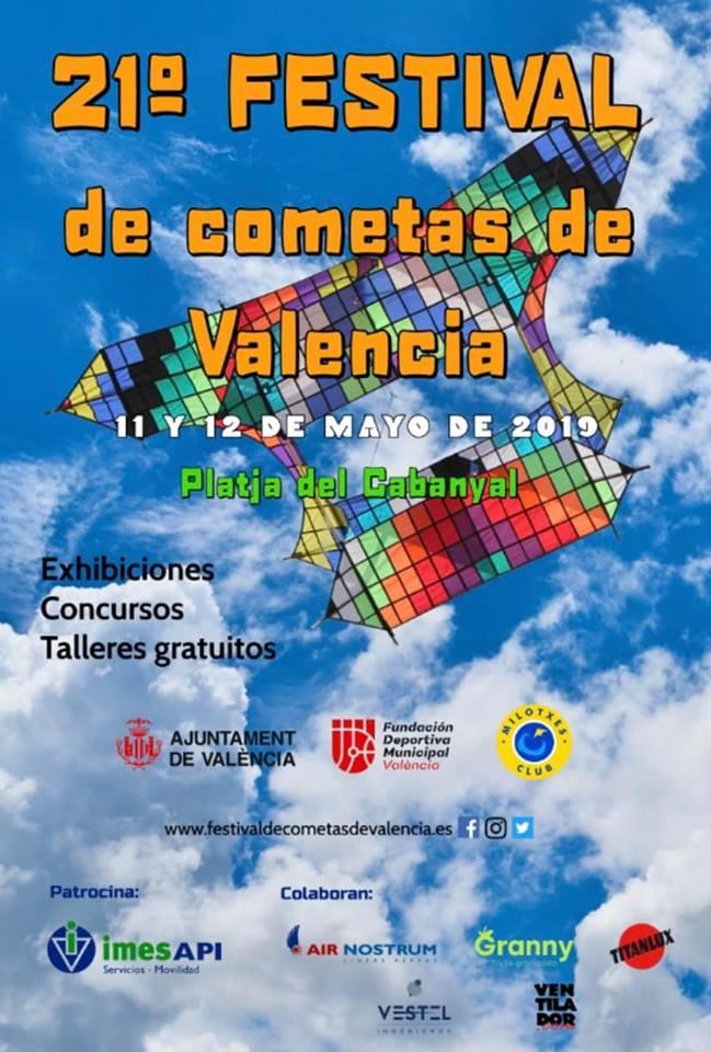 cartel festival cometas 2019 valencia