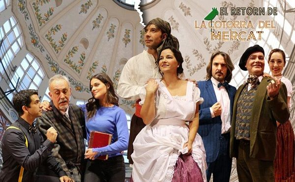 'El retorn de la Cotorra del Mercat' en el Teatro Talia valencia