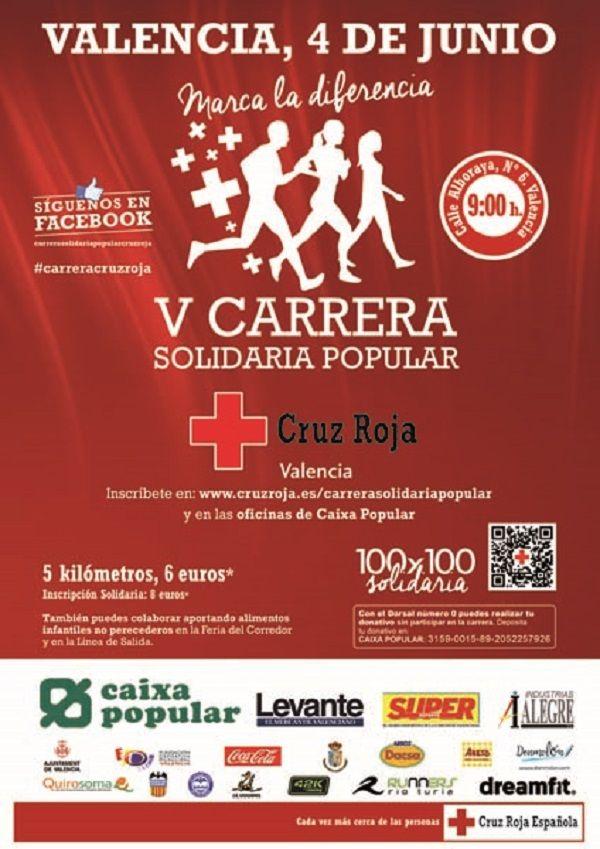 Carreras, Cruz Roja
