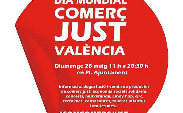 Día Mundial del Comercio Justo en Valencia