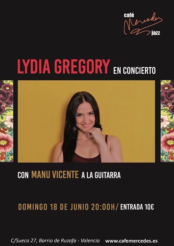 Lydia Gregory en directo valencia