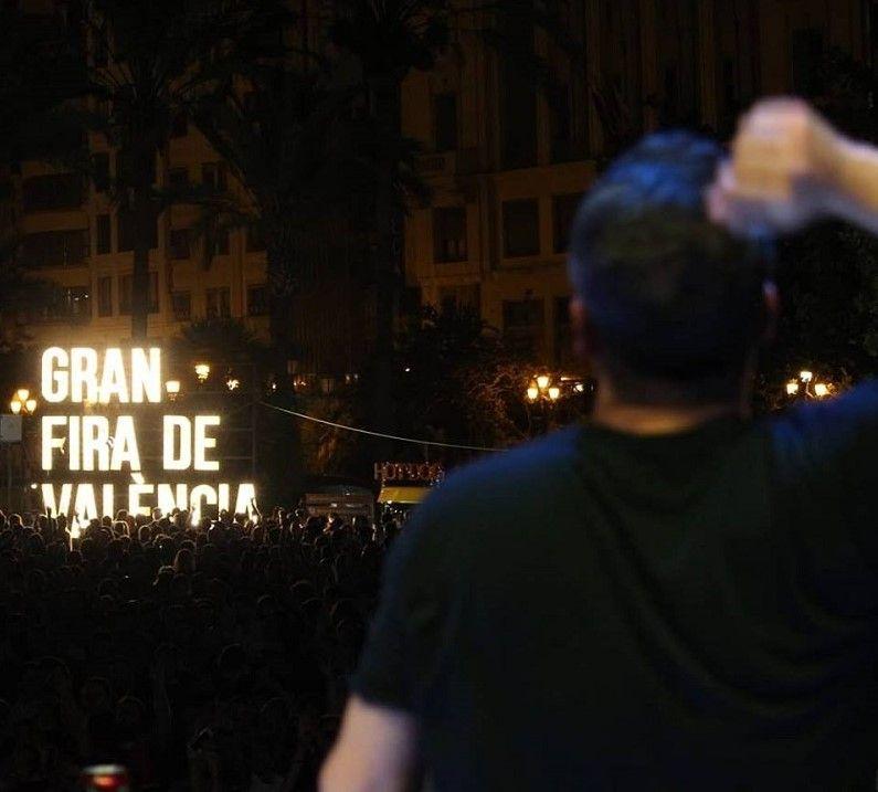 Programación para la Gran Nit de Juliol 2019 Valencia valencia