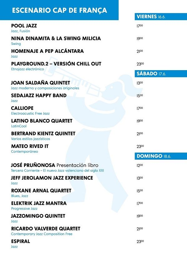 Cabañal, Festival de Música, Jazz