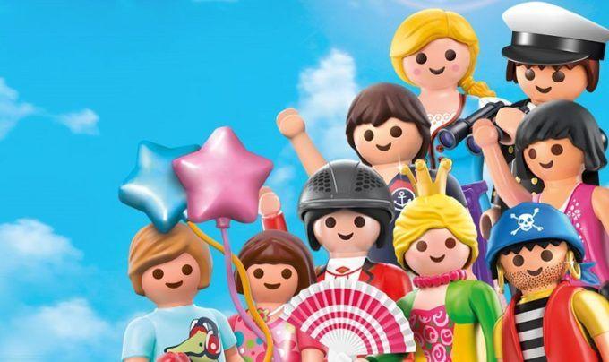 Exposición de clicks de Playmobil en Torrent